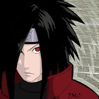 Рисунок профиля (madara uchiha)