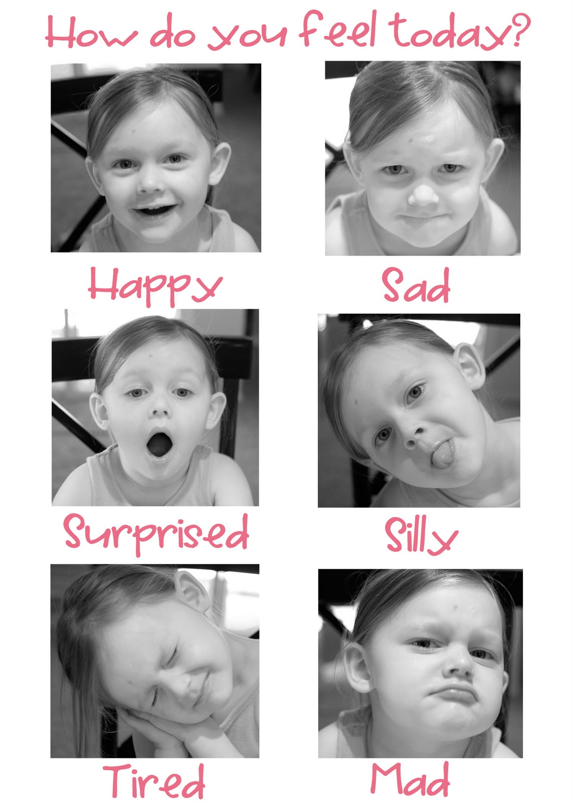 The Copycat Crafter: So, how are you feeling today?