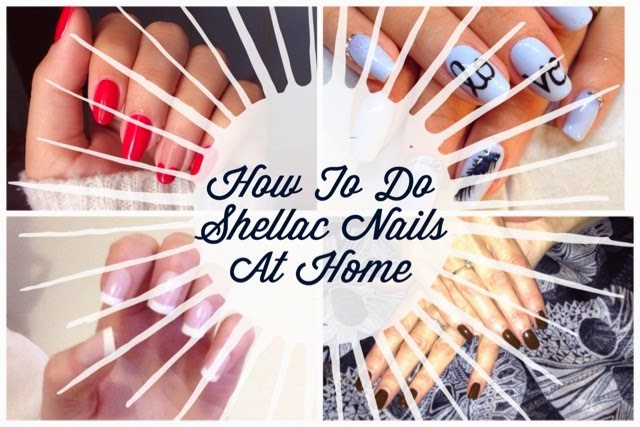 How to do shellac or gel polish nails at home i heart cosmetics shellac nails at home solutioingenieria Images