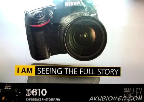 kamera dslr nikon 610