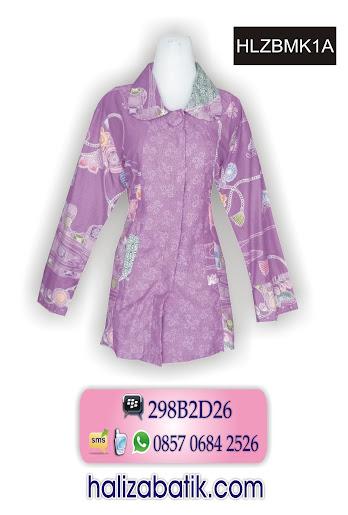 grosir batik pekalongan, Baju Batik, Baju Blus Batik, Model Blus