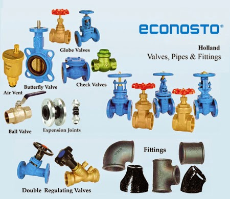 Types of pipes valves and fittings air conditioning for House water pipes types