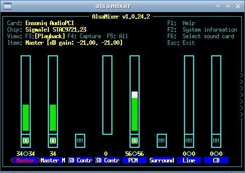 LXDE Sound Controls #1