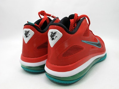 nike lebron 9 low gr liverpool 1 03 Nike LeBron 9 Low Liverpool FC Thats Ready for Anfield Road
