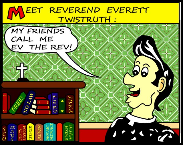 Meet Reverend Everett Twistruth