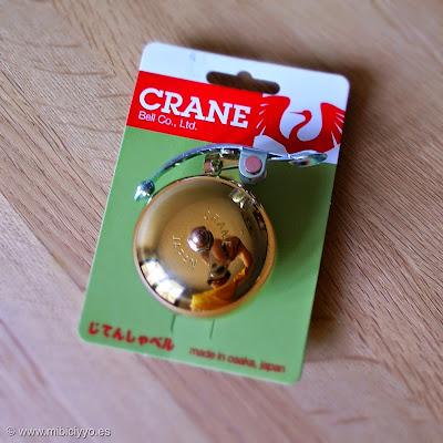 timbres Crane Bell Suzu Lever Strike Brass, en latón