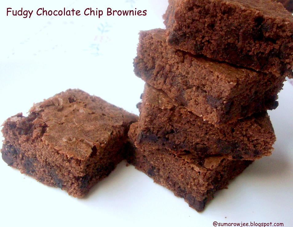 Fudgy Chocolate Brownies Recipes — Dishmaps