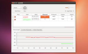 LinSSID in Ubuntu Linux