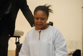 Célia est prête à entrer dans les eaux du baptême