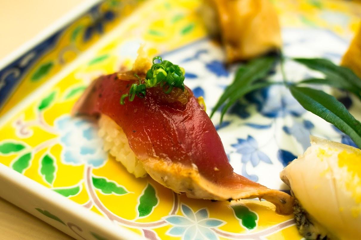 เที่ยวคิวชูด้วยตัวเอง : Canal City / Yamanaka Sushi