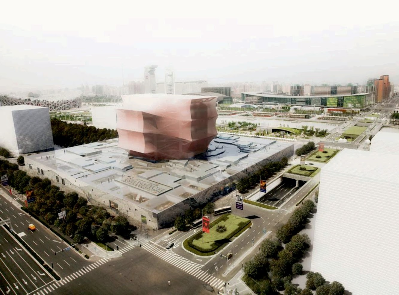Pechino, Cina: National Art Museum of China by Oma