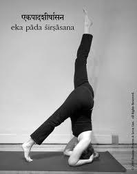 yoga Ásana sirshasana