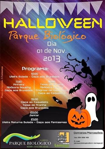 Halloween no Parque Biológico da Serra das Meadas