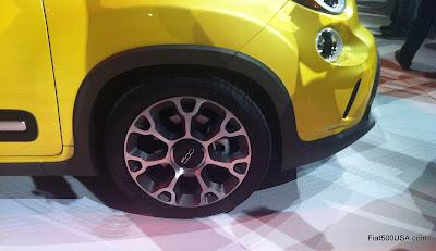 Fiat 500L Trekking 17 inch wheel
