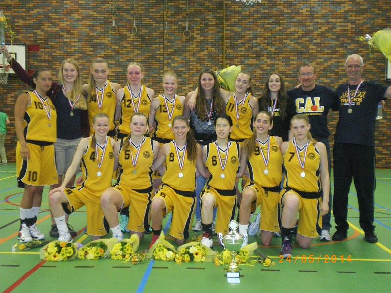 Meisjes onder 18-1 2de van Nederland