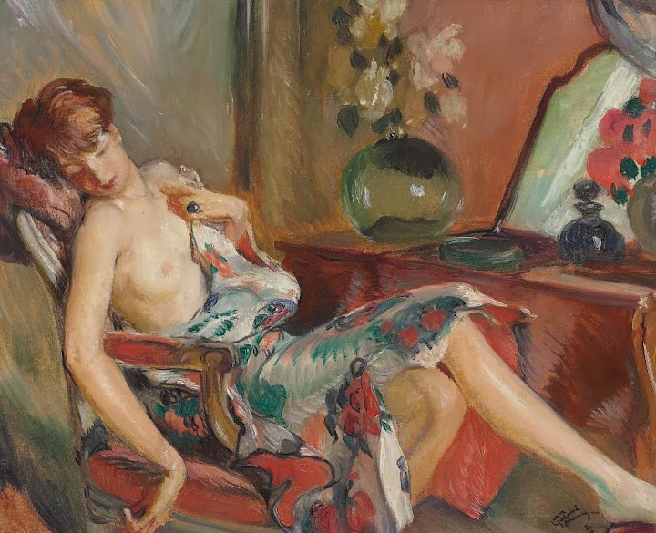 Jean-Gabriel Domergue - Femme assoupie