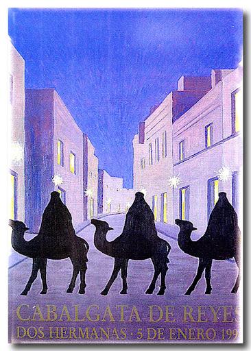 Cartel Cabalgata 1994, autor: Marina Díaz Velazquez