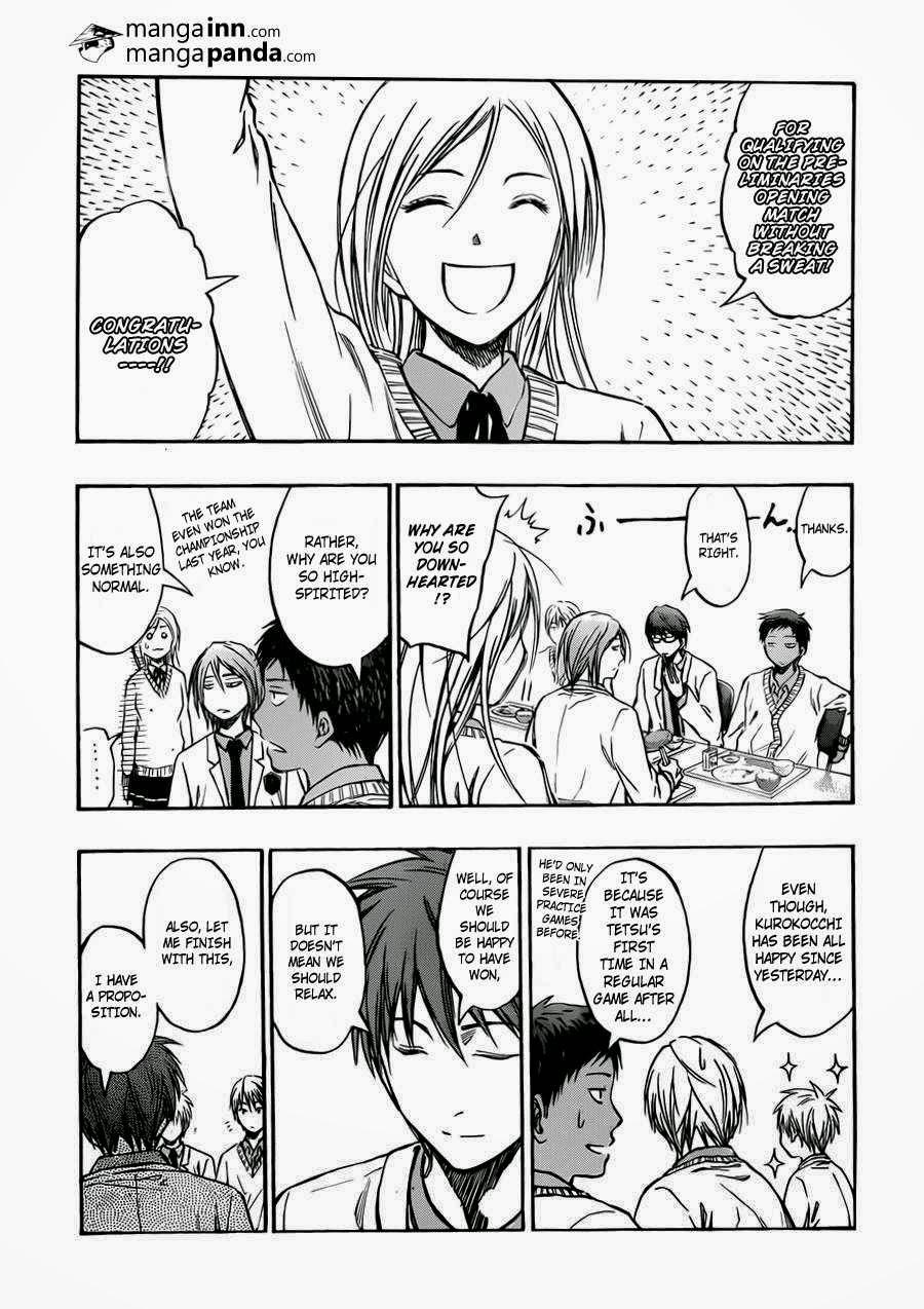 Kuroko no Basket Manga Chapter 214 - Image 03