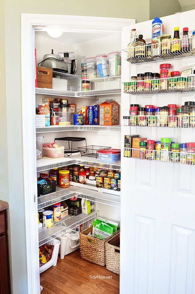 Resolve to Get Organized: The Perfect Pantry