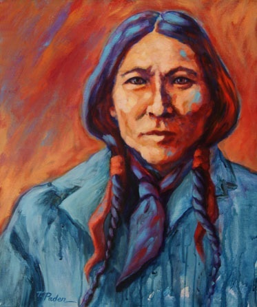 Daily Painters of California: Native American Indian