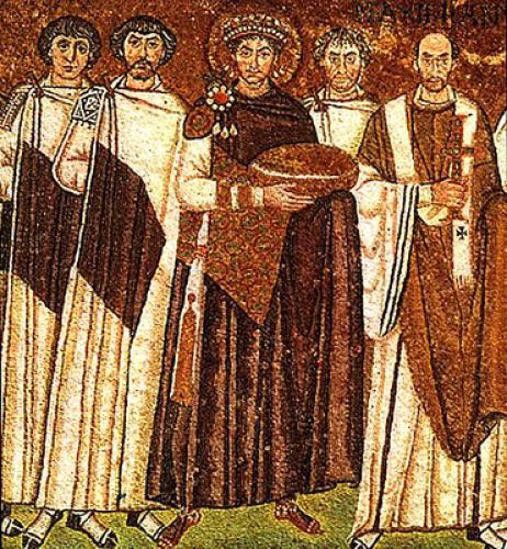 St Justinian The Emperor