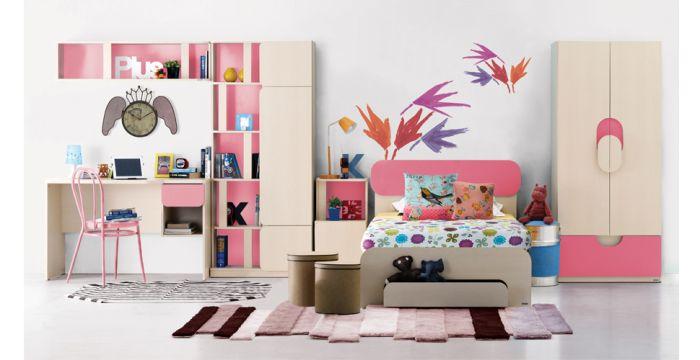 Giường cho bé thiết kế đầy đủ tiện nghi