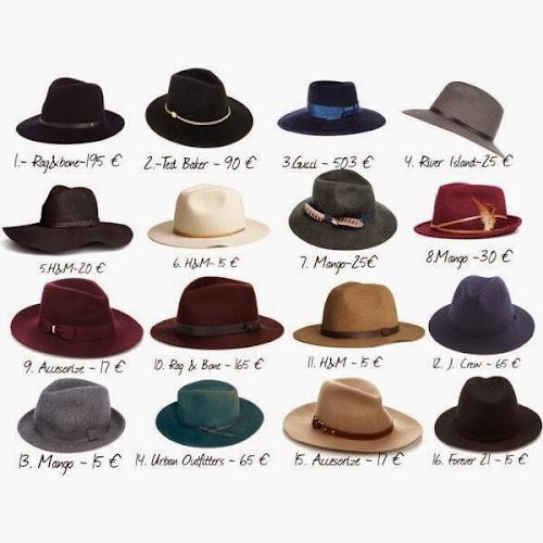 Comprar sombrero Fedora