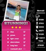 Style Me Girl - Level 55 - Mermaid - Fara - NO CASH ITEMS! - Love It! Three Stars