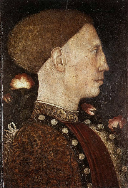 Pisanello - Portrait of Lionello d'Este