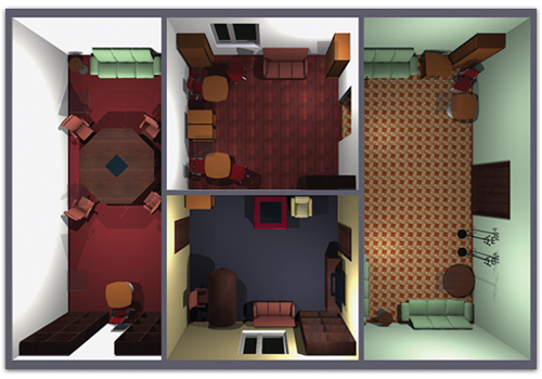 Arquitectura modelo instrucciones para el extraordinario for Escuela de decoracion de interiores