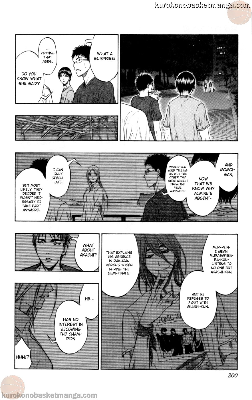 Kuroko no Basket Manga Chapter 80 - Image 14