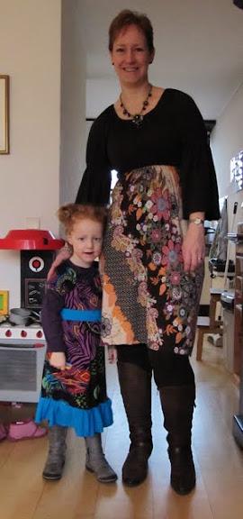 Sadie en Meghan jurken