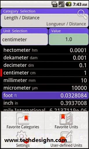 convert pad unit converter android app