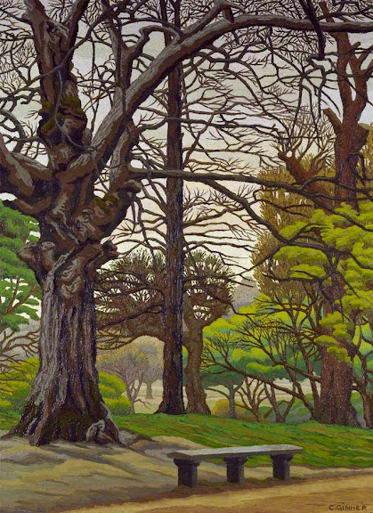 Charles Ginner - Hampstead Heath - Spring