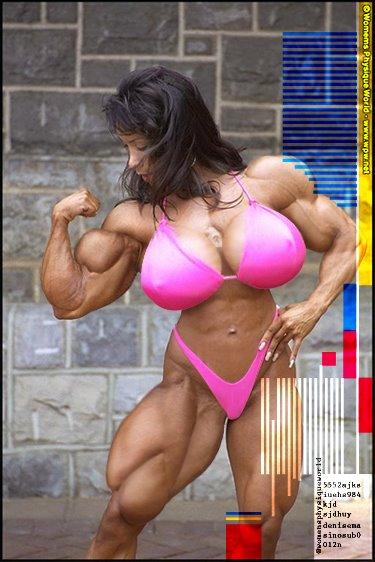 Denise Masino muscle morph