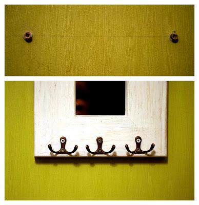 mirror key holder. this mirror key holder o