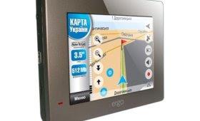 GPS-навигатор Ergо GPS 735