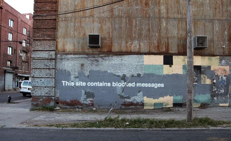 Banksy Blocked
