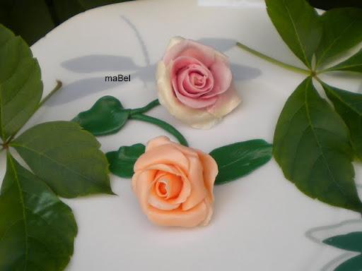 Rosas de caramelo