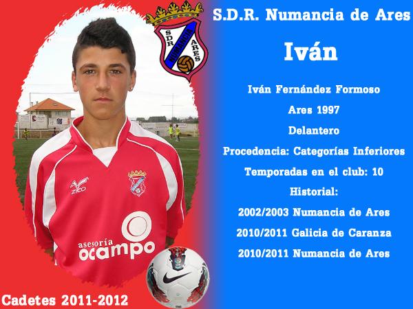 ADR Numancia de Ares. Cadetes 2011-2012. IVAN.