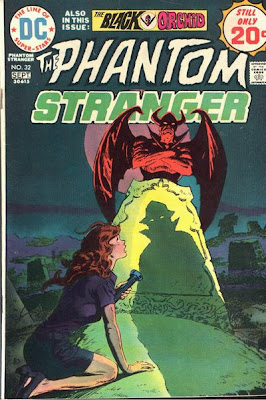 Phantom Stranger #32, Black Orchid
