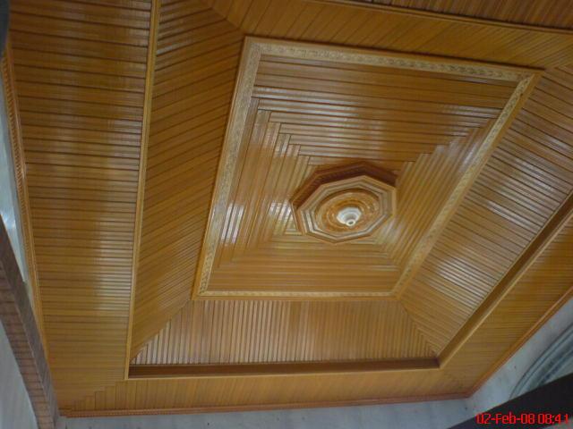 BUNDA PROFIL Foto plafon kayu cantik