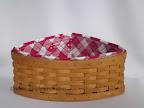 Longaberger Corner Basket
