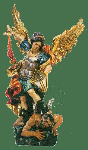 Arc�ngel San Miguel. Pr�ncipe de los Ej�rcitos Celestiales.