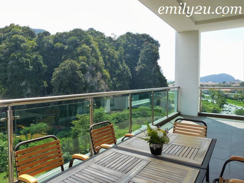 Symphony Suites Hotel penthouse