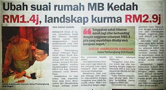 Syabas MB Kedah