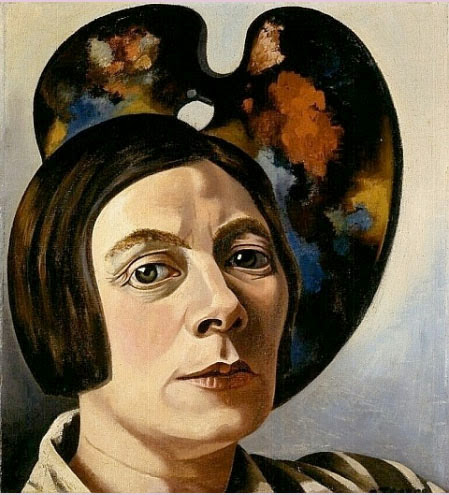 Charley Toorop - Self-portrait with Palette