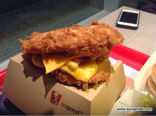 KFC Double Down UK