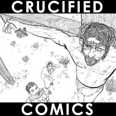Cover for Crucified Comics by Joe Chiappetta
