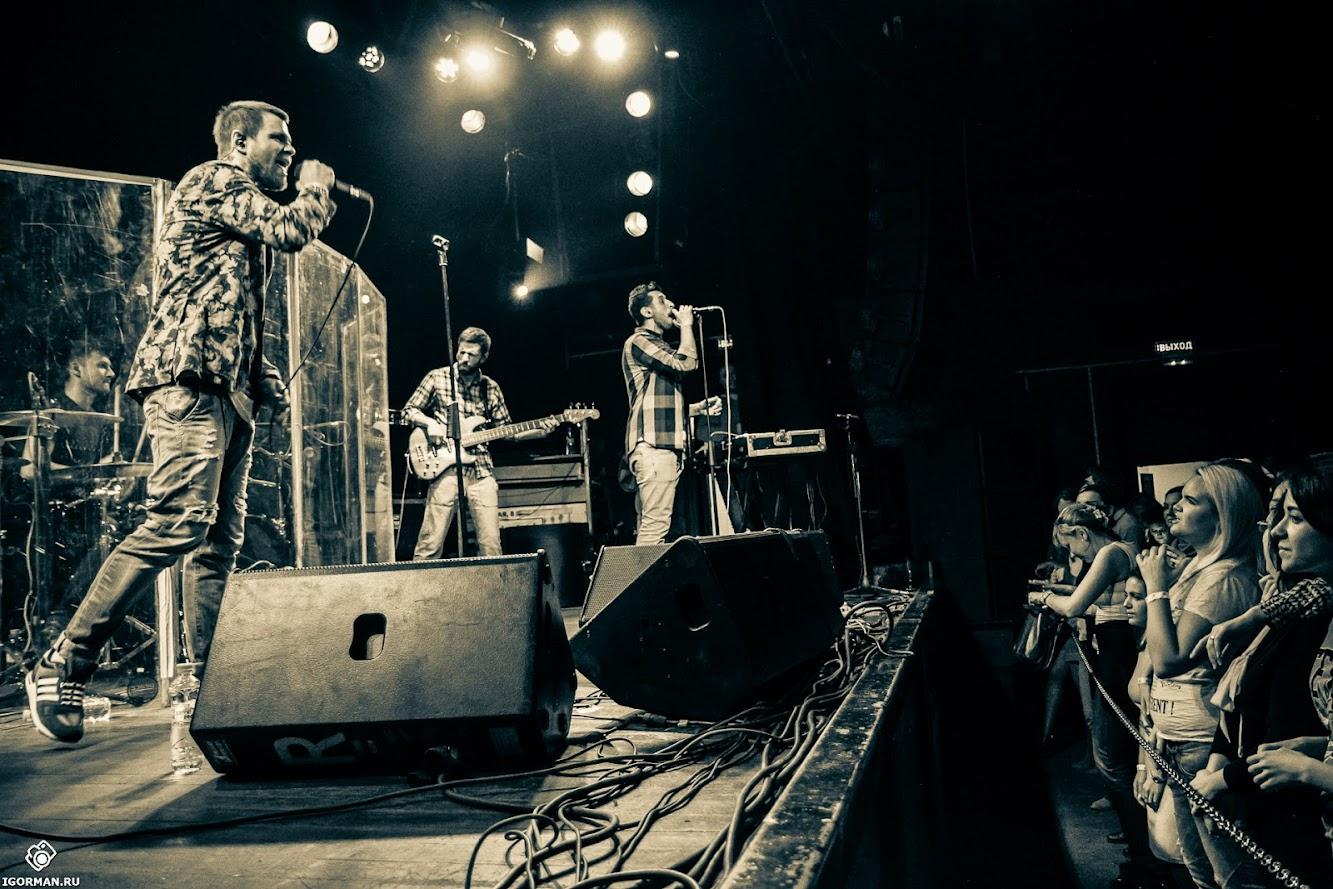 Фоторепортаж - концерт группы Градусы в клубе Б2, 10.10.2014 - фотограф IgorMan